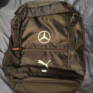 NWT Puma Mercedes Benz backpack